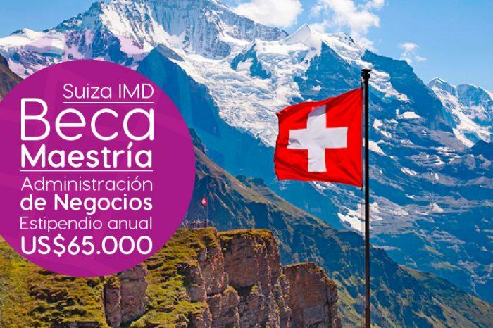 Suiza: Becas Para Maestría en Administración de Negocios IMD
